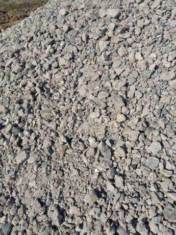 Щебень фракция 0-70 мм от 270 грн/т .