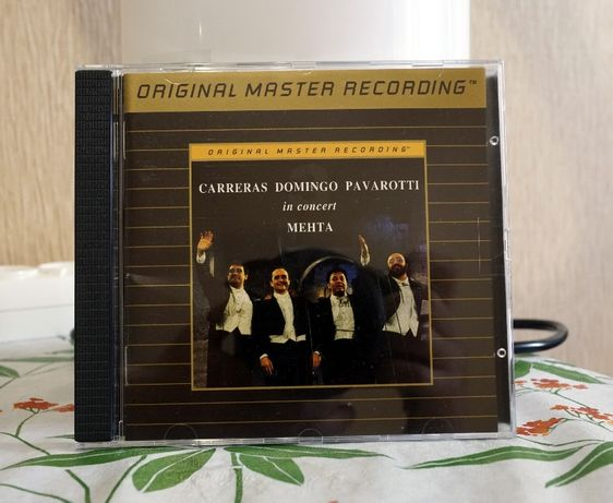 "Carreras, Domingo, Pavarotti with Mehta 1990 ""In Concert"", MFSL, Mint"