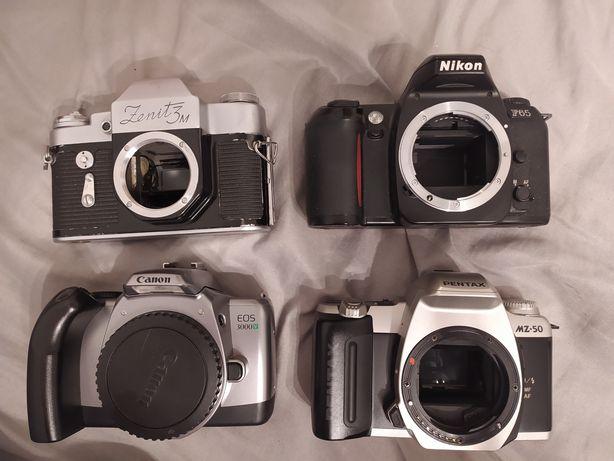 Nikon, Canon, Pentax, Zenit