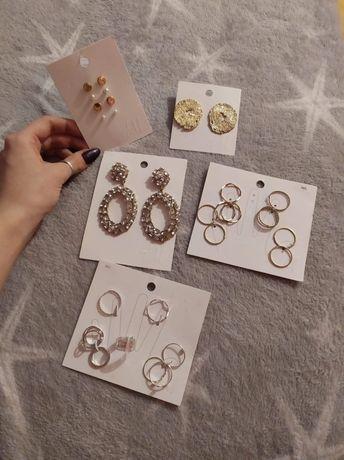 pierścionki kolczyki bransoletki