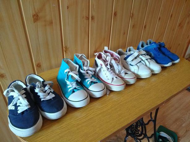 Nike, Reebok, Vty, trampki