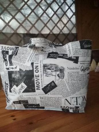 Шоппер большой. Вместительная красивая сумка