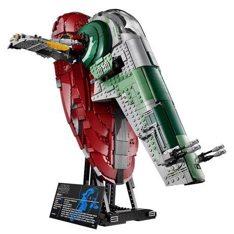 Klocki Lepin Star Wars UCS Slave l 2058 klocków