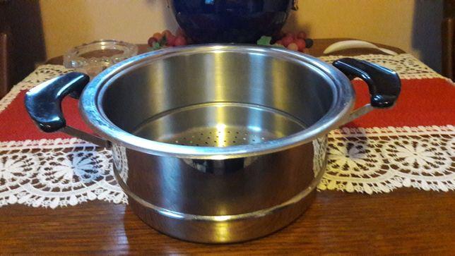 AMC durszlak druszlak sitko do garnka do gotowania na parze