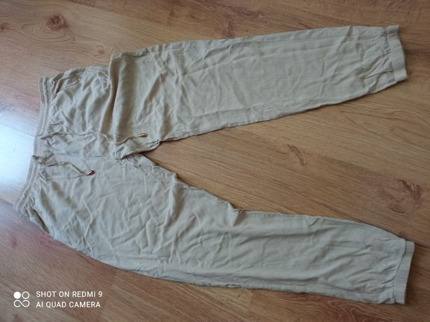 Lekkie spodnie na gumce