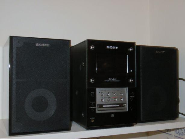 Aparelhagem Sony CMT-MD1 Mini Hi-Fi System Compact black MINI DISC