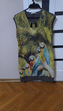 Літнє плаття з натуральної тканини