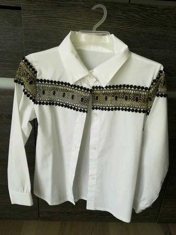Piękna koszula z haftem