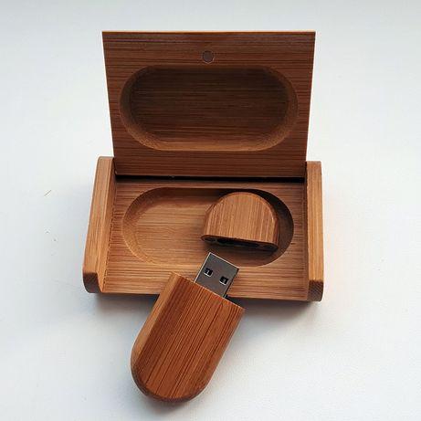 Деревянная подарочная флешка 16 гб