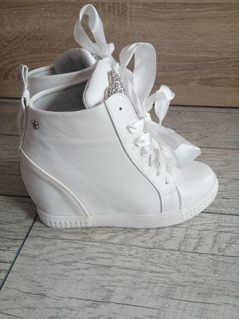 Śliczne NOWE sneakersy roz 37