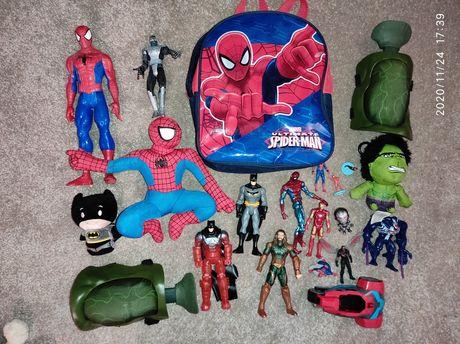 Spiderman zestaw zabawek superbohater