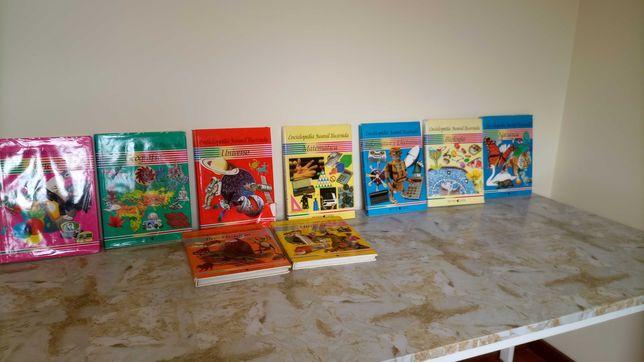 Enciclopédias com 9 volumes