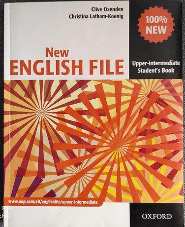 Podręcznik do angielskiego New English File poziom upper + ćwicz +CD