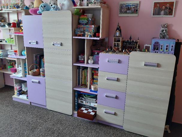 Meble dziecięce zestaw mebli do pokoju dziecięcego Lorento