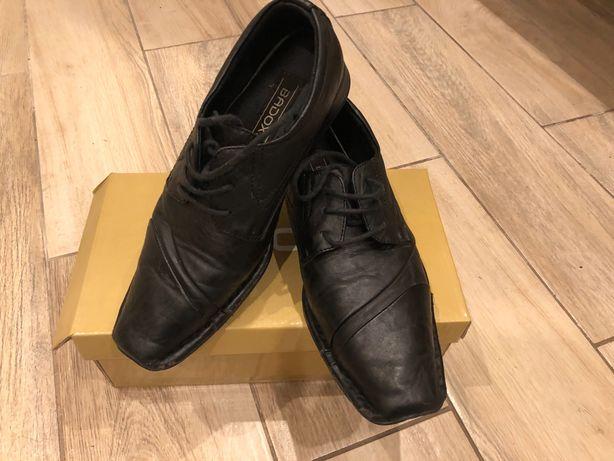 Buty dla chłopca BADOXX rozm. 34 idealne na Komunię Św.