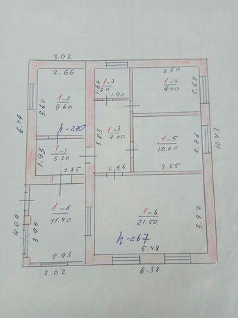 Продам дом п.г.т.Юрьевка