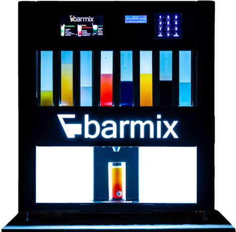 BARMIX - automatyczny barman bar dym napis LOVE bańki serce + GRATISY
