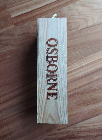 Caixa de madeira e acrílico para vinho do Porto (OSBORNE)