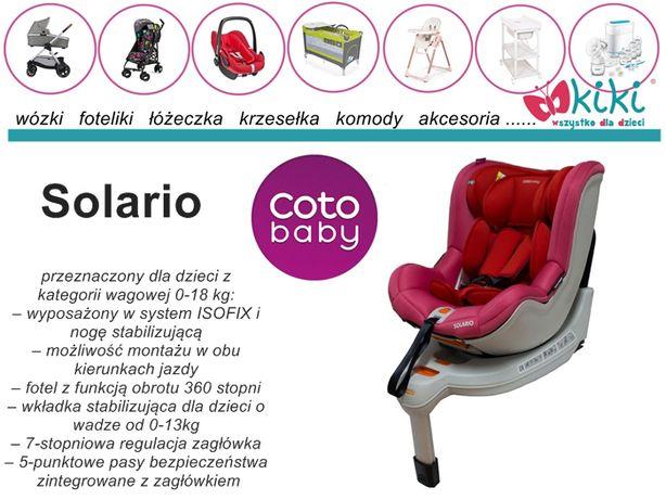 Fotelik samochodowy Cotobaby Solario 0-18kg