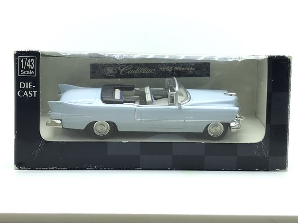1:43 Scale Die-Cast Red 1955 Cadillac Eldorado Convertible
