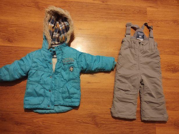 Okazja! Kurtka zimowa + spodnie narciarskie Smyk