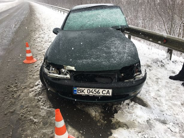 Opel vectra b 1.6 16v після ДТП