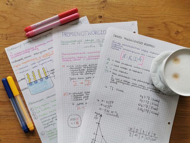 Najlepsze notatki z chemii !! - matura chemia 535 skanów