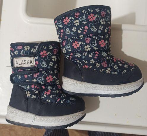 Ботинки зимние девчачие