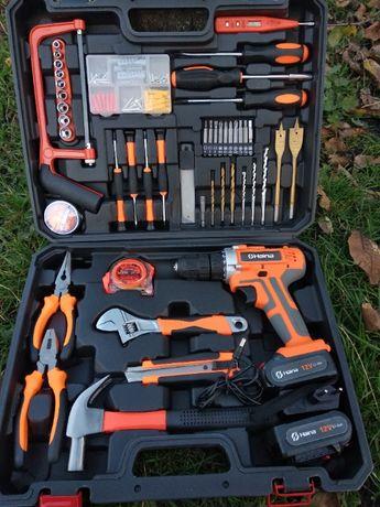 Мультифункциональный набор инструментов для монтажа с дрелью-шуруповер