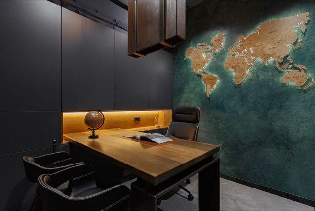 Стильный офис Лофт с мебелью опен спейс Аркадия своя парковка