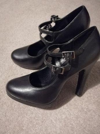 Buty damskie kupione w Deichmanie