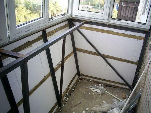 100% КАЧЕСТВО! Расширение балкона Вынос по подоконнику ремонт под ключ