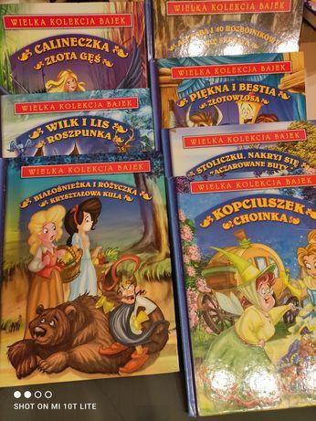 Bajki - wielka kolekcja 7 książek