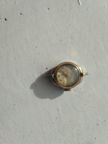 Винтажные женские позолоченные 10 микрон часы Ingersoll рабочие