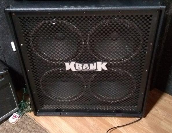 Coluna Guitarra Krank 4x12 480watts oversized