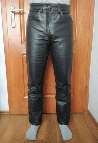 Skórzane spodnie motocyklowe