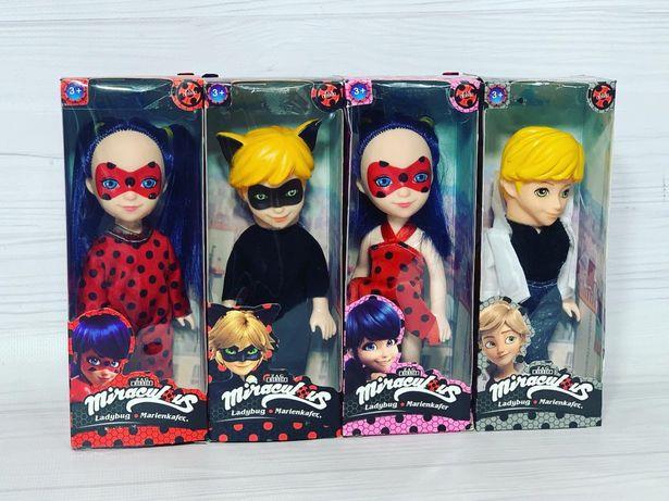 Куклы Леди Баг и Супер Кот , 4 героя !!!
