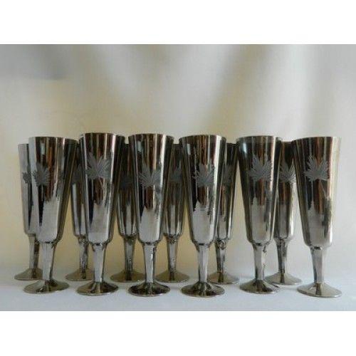 Бокал для шампанского Альянс винтаж, 12 шт., стекло Киев - изображение 1