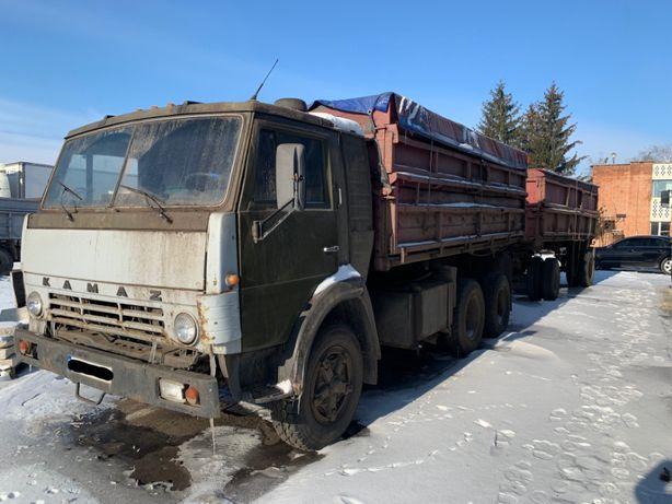 Камаз. Зерновоз. Самосвал. 55102