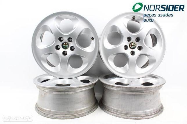 Conjunto de jantes de alumínio Alfa Romeo 147|00-04