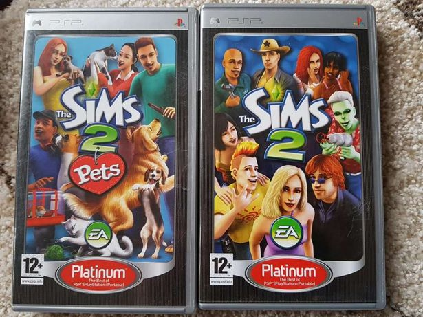 PSP The Sims 2 i The Sims 2 Pets