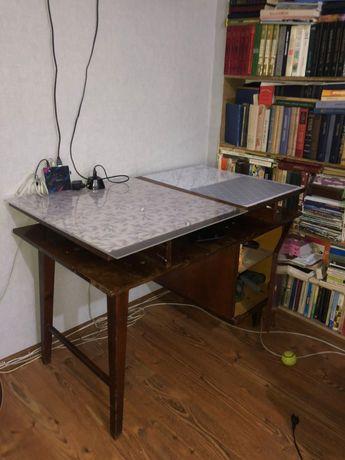 Стол письменный деревянный под покраску