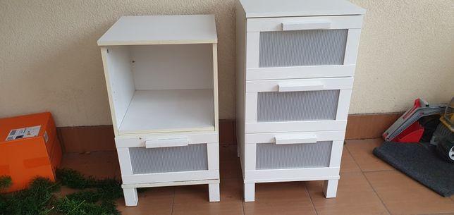 Szafki nocne półki szuflady IKEA Aneboda