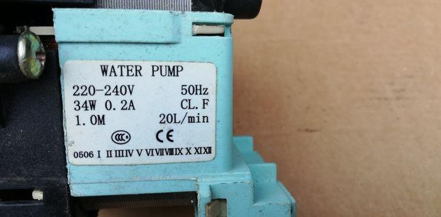 Pralka Polar Luna 385E pompa wody