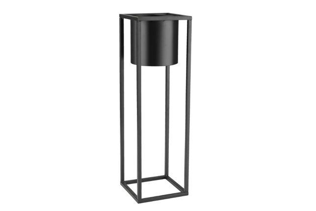 Piękny minimalistyczny kwietnik metalowy LOFT z doniczką