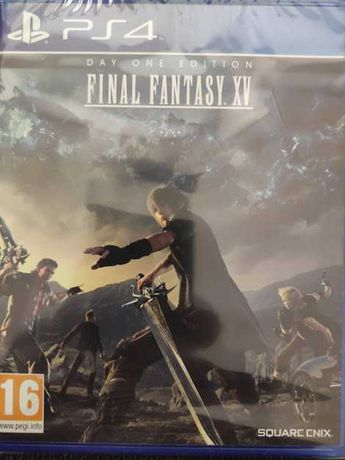 Final Fantasy XV Day One Edition Ps5 NOVO SELADO playstation 4