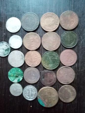 Монети СССР и царської росии