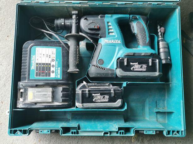 Mlotowiertarka Makita z walizka na akumulator