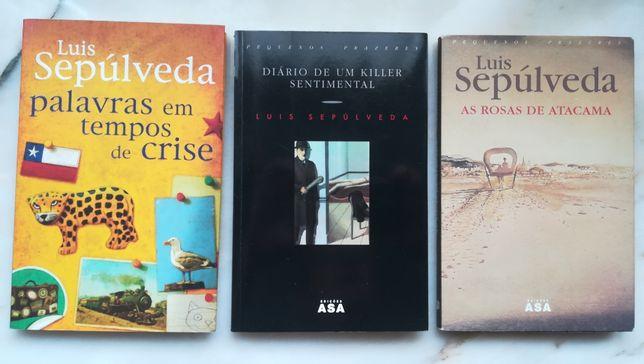 Luis Sepúlveda 3 excelentes livros