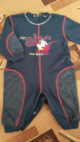 Пакет, набор теплой одежды на осень для малыша 0-3 мес